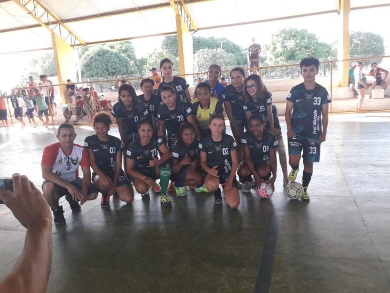 Pau D'arco do PI promove torneio regional  de futsal feminino