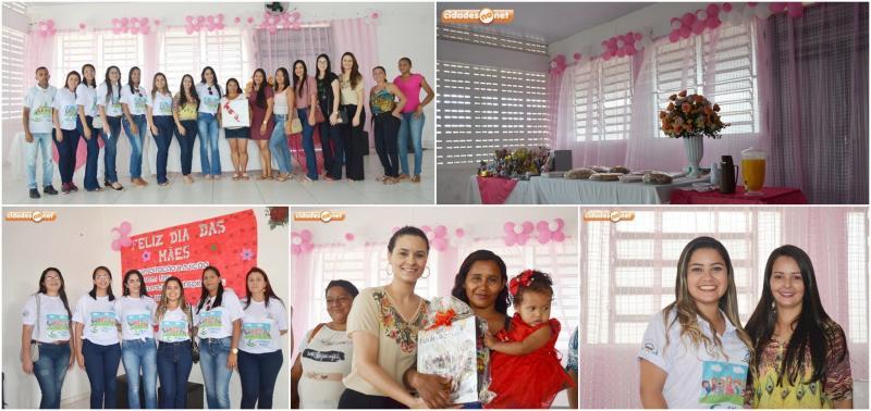 Assistência Social promove café da manhã em homenagem as mães em Jaicós