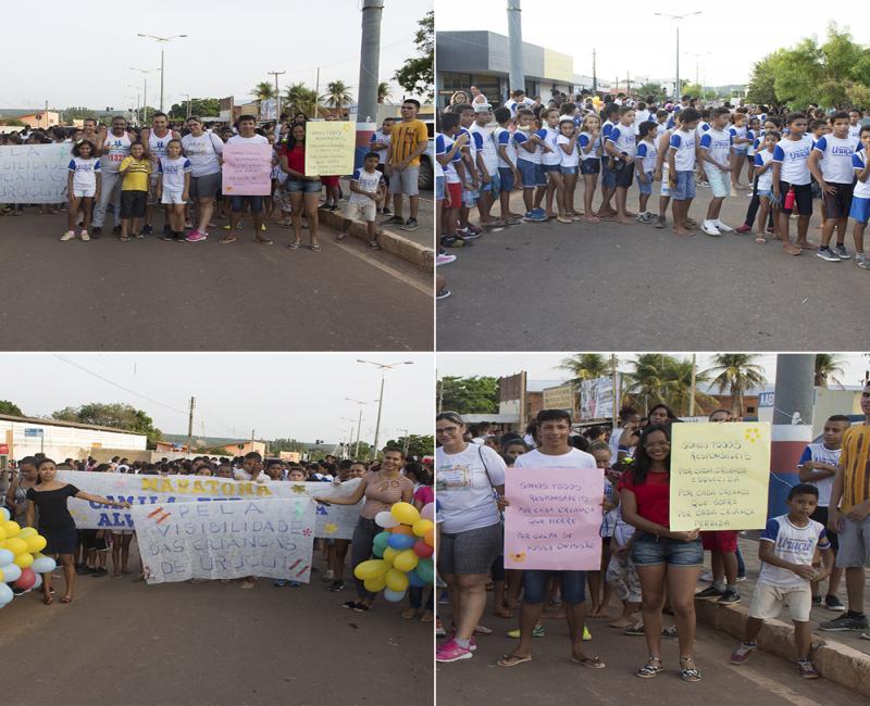 Maratona Encerra Ano Letivo das Escolas Municipais de Ensino de Uruçuí