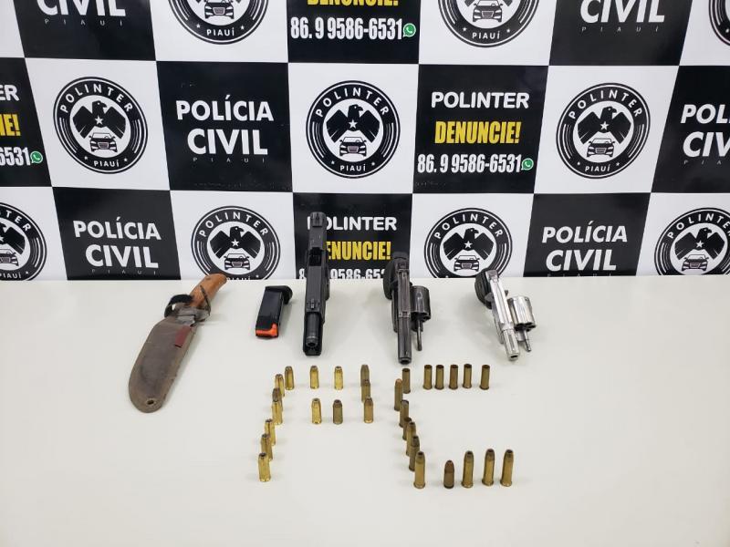 Polinter deflagra operação e cumpre mandados em Teresina