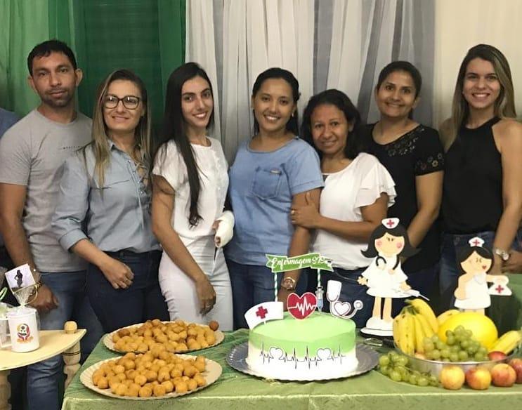Saúde de São João da Serra homenageia enfermeiros