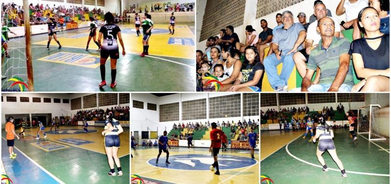 Três jogos abriram o Campeonato de Futsal de Inhuma