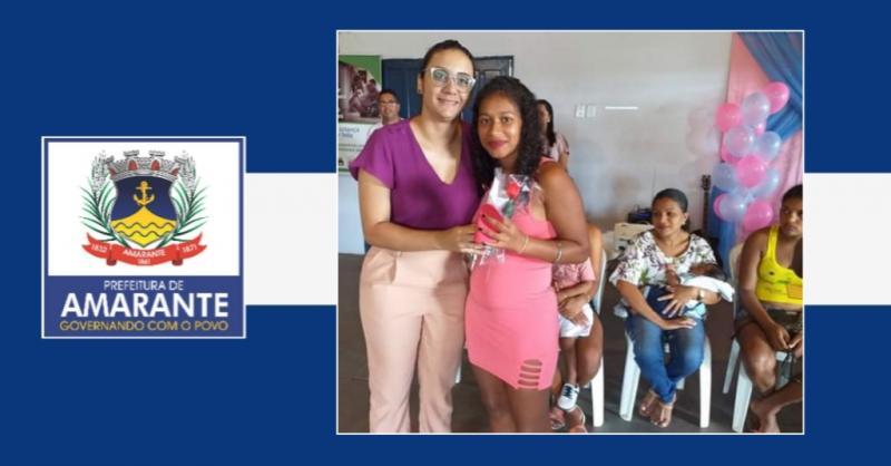 Prefeitura de Amarante realiza festa e homenagens para as gestantes
