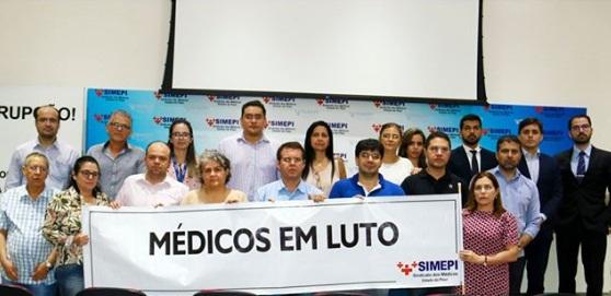 Pacientes ficarão sem atendimento devido a paralisação dos médicos