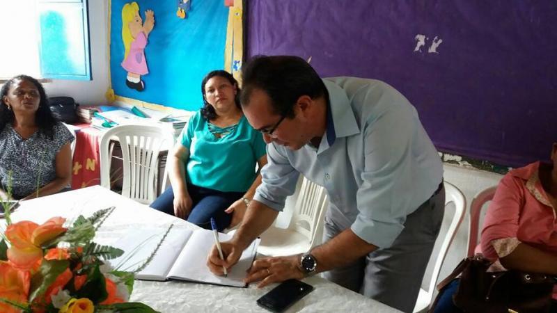 Prefeitura de Nazária realizou posse do Conselho Municipal do Idoso