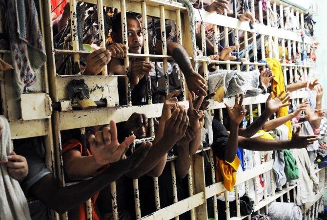 Brasil é o 3º país do mundo com maior número de presos