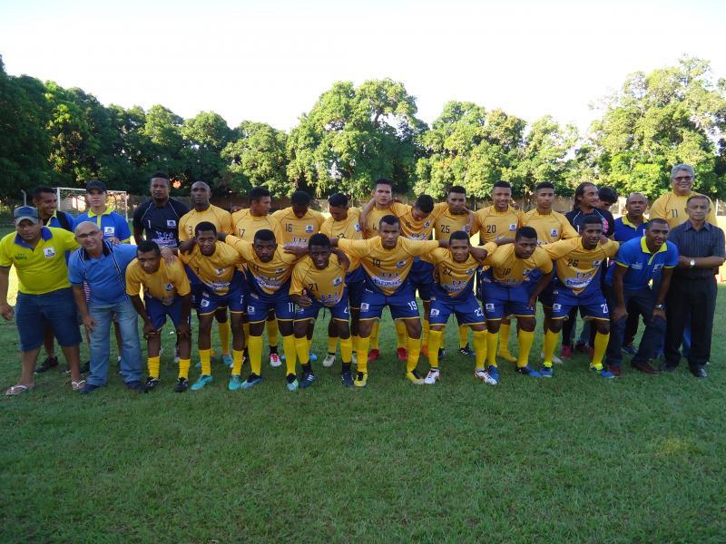 Seleção de Amarante enfrentou a de Nazária neste sábado; imagens