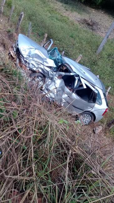 Grave acidente deixa vítima fatal na BR-230 no povoado Buriti Largo