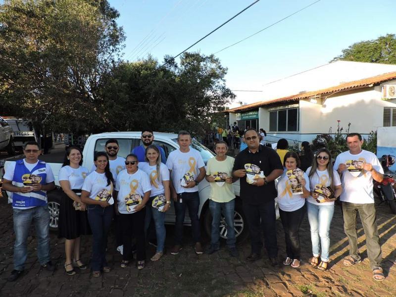 15° Ciretran participa da passeata em alusão da campanha maio amarelo
