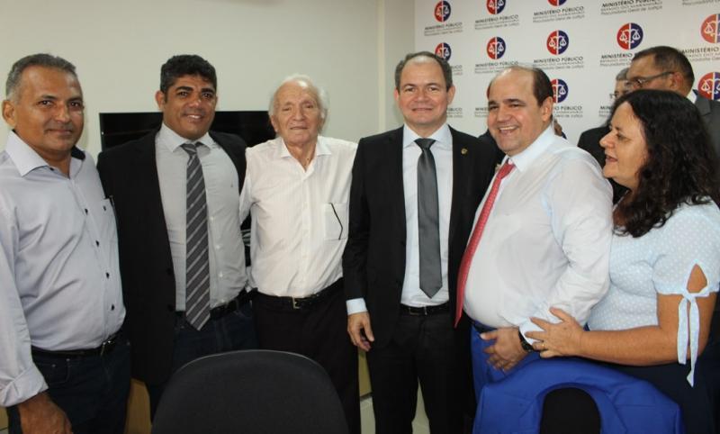 Deputado Rafael Leitoa cumpre ampla agenda em Timon