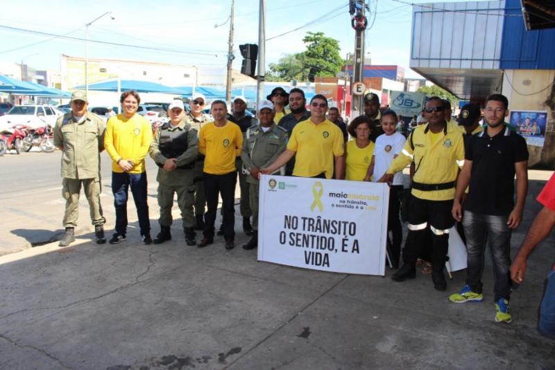 SUTRAN realiza dia D da campanha Maio Amarelo