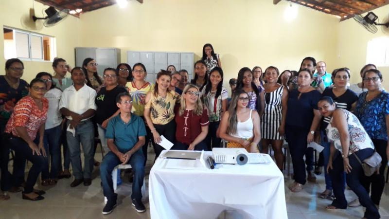 Grupo Educacional - GE5 realizou I Encontro de Gestão em Francinópolis