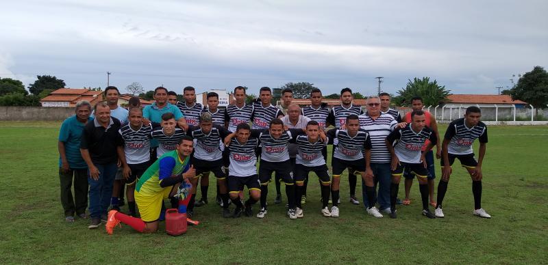 Seleção de Lagoinha do Piauí empata com Palmeirais em 1 x 1 dentro de casa