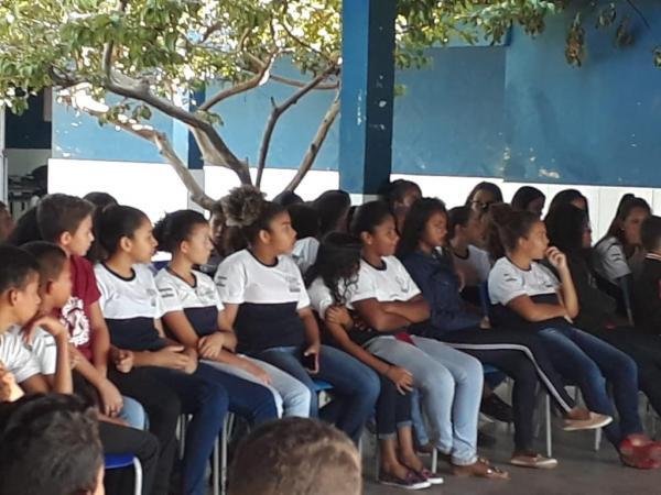 Em alusão ao 18 de maio, palestras são realizadas nas escolas em Monte Aleg