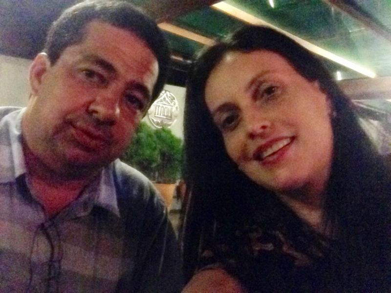 Luis Nunes e Cassandra Moraes / Foto: Facebook
