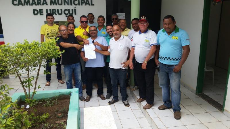 Lei para melhoria dos taxistas é aprovada em Uruçuí