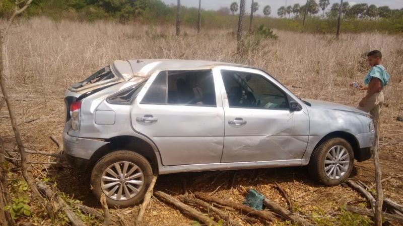 Homem sofre grave acidente após voltar de festa no Piauí