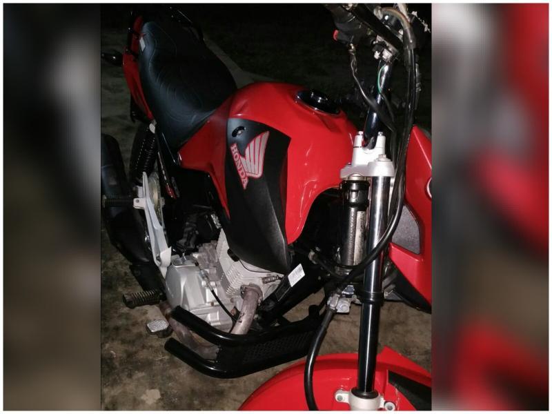 Ex prefeito de São João do Arraial teve moto furtada nesta terça-feira (28)