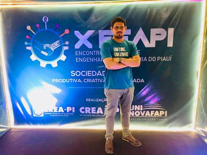 Eduardo Henrique faz seu primeiro evento solo em Teresina