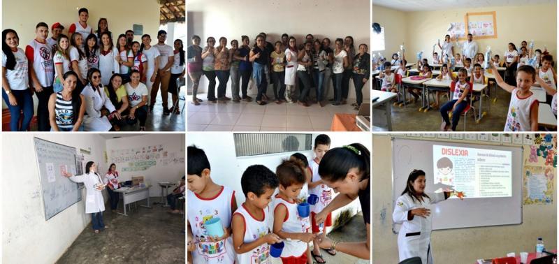 Projeto Saúde na Escola presta atendimentos à alunos da Rede Municipal