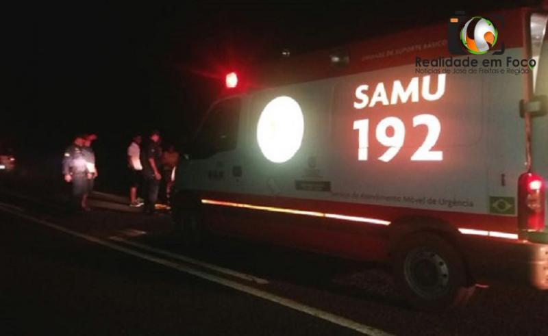 Motociclista fica gravemente ferido após colisão com ônibus na PI-113