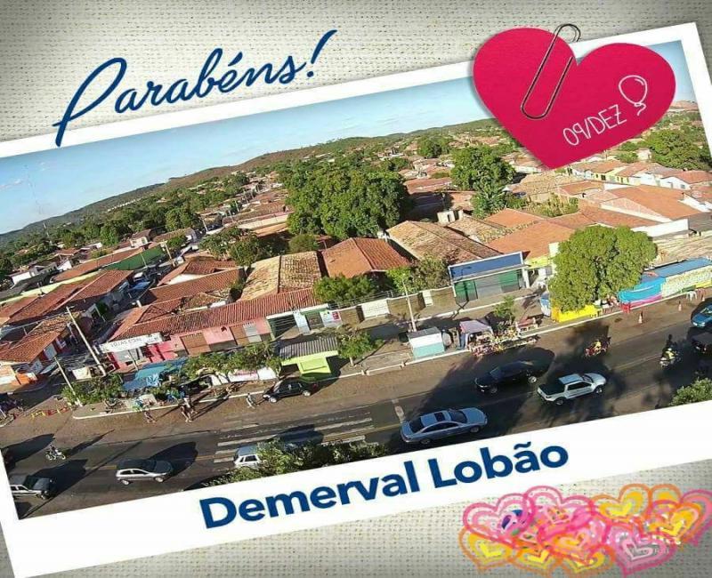 54 anos de Demerval Lobão (PI): hoje (09), missa, sessão solene, corte do bolo e show musical