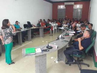 Reunião define detalhes para 18º jogos escolares em José de Freitas