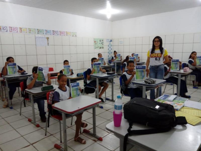 Prefeitura de Lagoinha e secretaria de Educação realiza 2° Simulado SAEB
