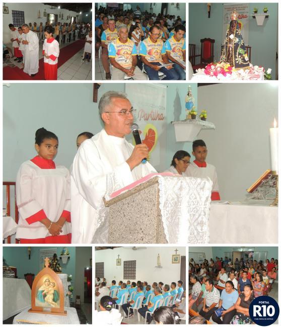 Pe.Eduardo | Preside Santa Missa de encerramento do mês Mariano