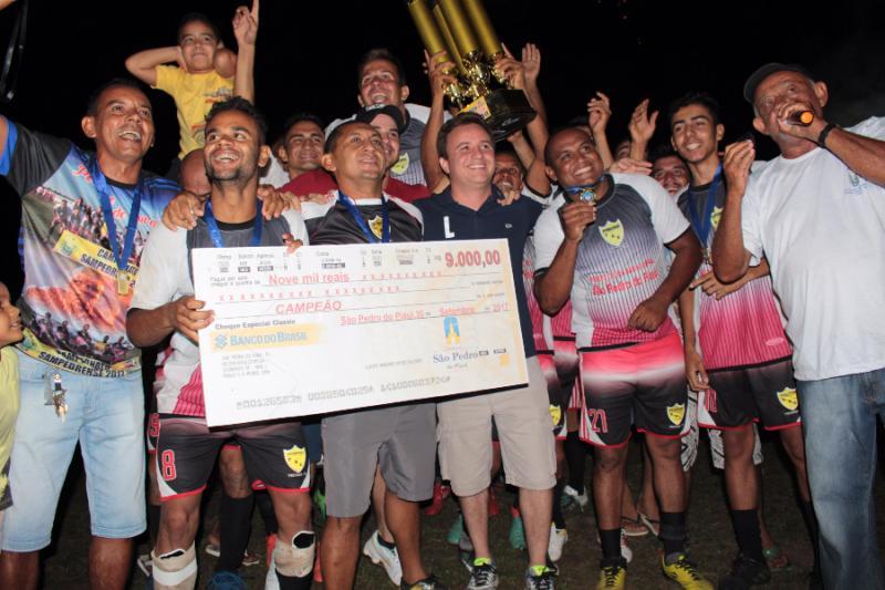 Final do campeonato municipal São Pedrense
