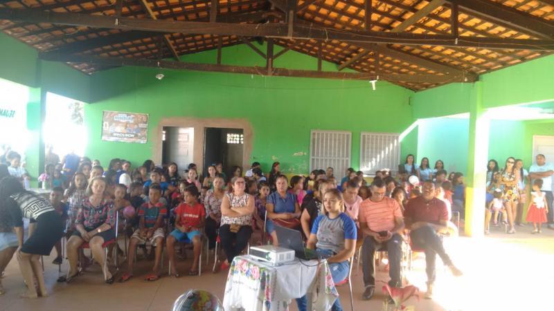 Acadêmicos do Curso de Pedagogia /EaD promoveram evento em Redenção do Gurg