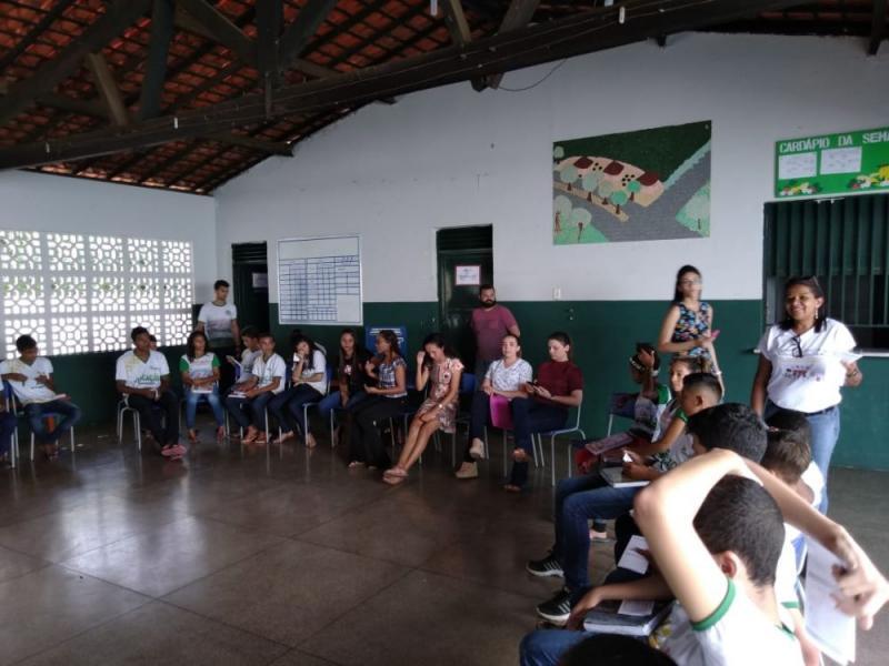 Saúde de Água Branca aborda Direitos Sexual e Reprodutivo em escola
