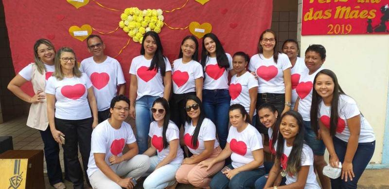 Festa para Mães foi realizada em praça pública de Landri Sales