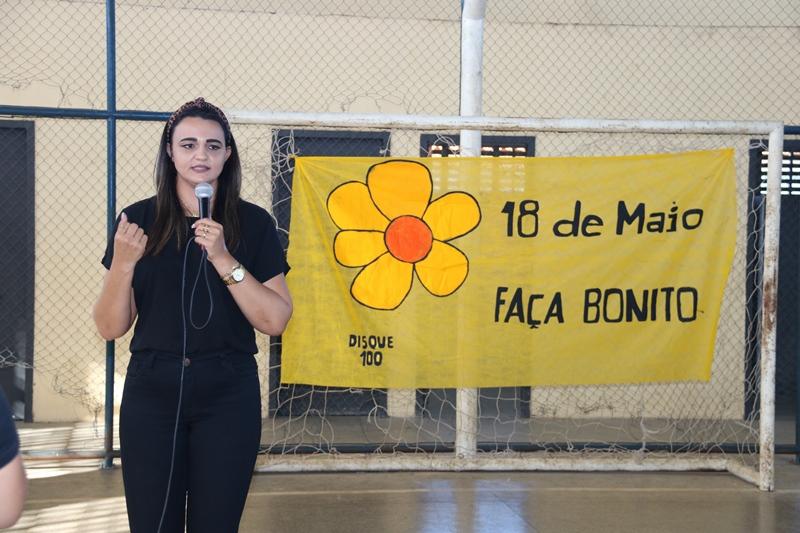 "Água Branca promove culminância da campanha ""18 de Maio – Faça Bonito"""