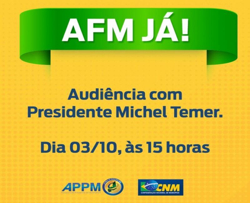 Prefeitos piauienses irão à Brasília para audiência com Michel Temer