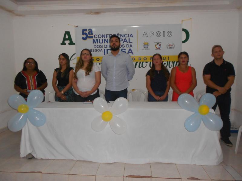 conferência dos direitos da pessoa idosa- São Gonçalo do Piauí