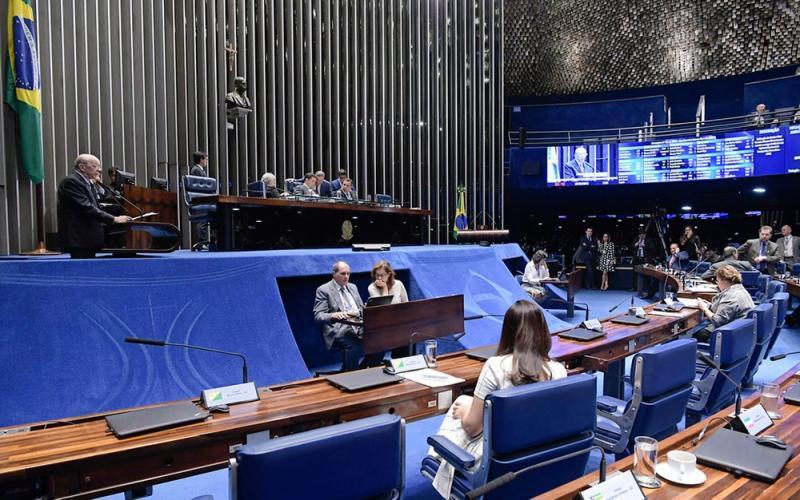Foto: Waldemir Barreto/Agência Senado - Plenário do Senado