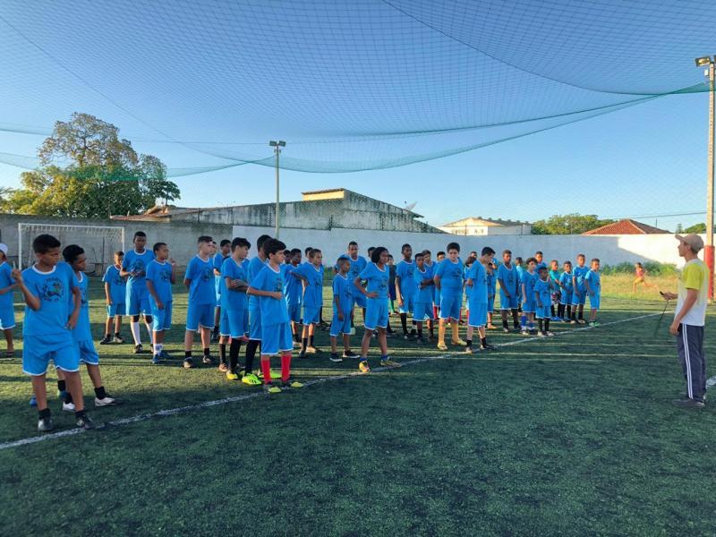 Campeonato encerra primeiro ciclo do projeto 'Bom de Bola' em Oeiras