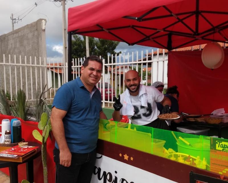 Tapiocaria vira sucesso na 4º Feira Territorial de Demerval Lobão