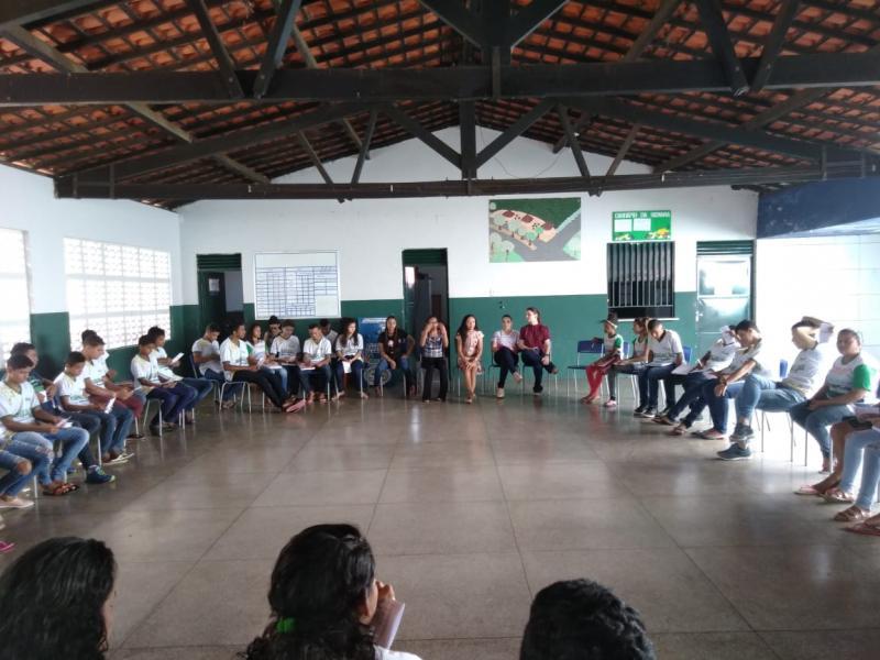 Água Branca aborda Direitos Sexual e Reprodutivo em escola do município