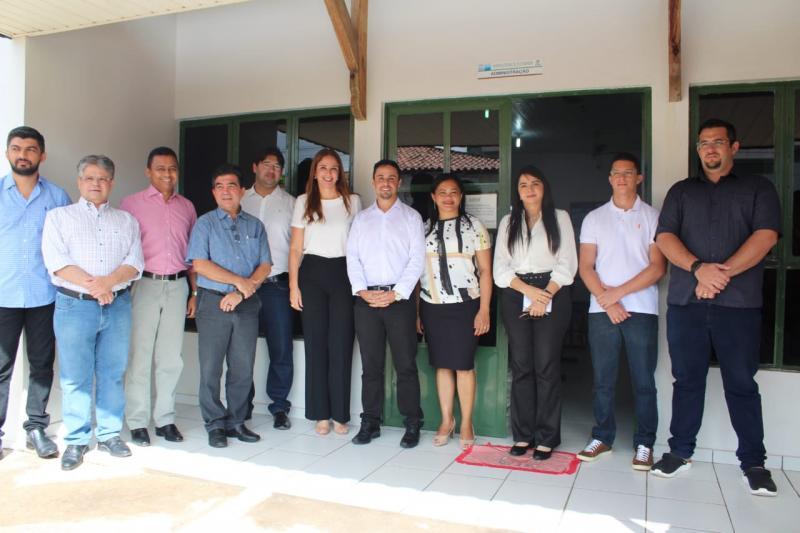 Limma acompanhou a comissão de saúde em visita ao hospital Júlio Hartman