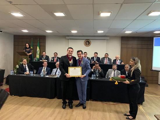 Presidente da OAB Piauí é empossado na Academia Brasileira de Direito
