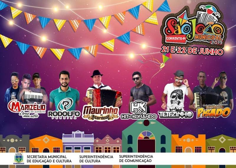 Prefeitura lança as atrações do 7° Festival municipal de quadrilhas