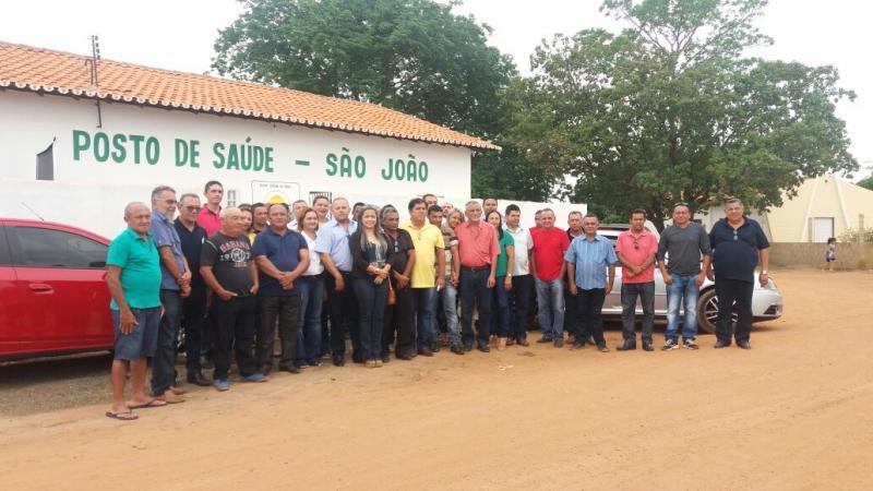 Prefeitura de Olho D'água do Piauí inaugura obras na zona rural e urbana