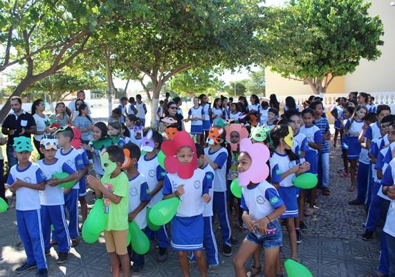 Escola Idália chama atenção de Colônia do Gurgueia para o meio ambiente