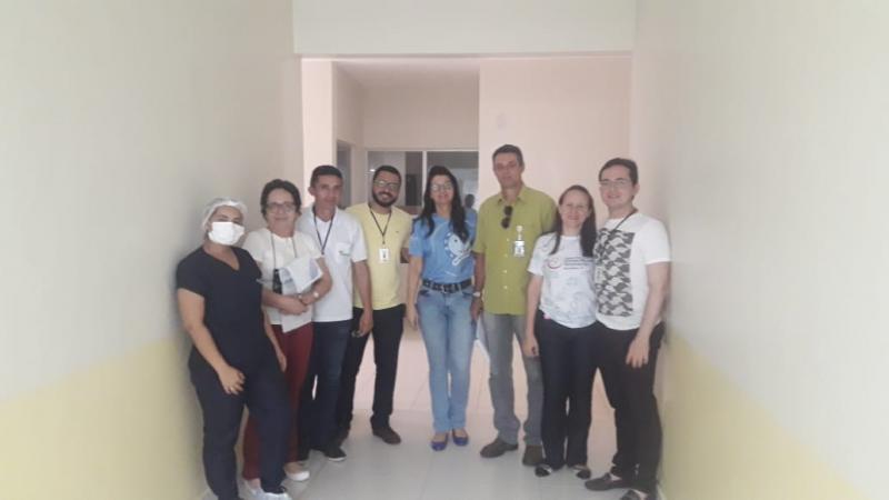 Hospital de Água Branca recebe visita da Divisa