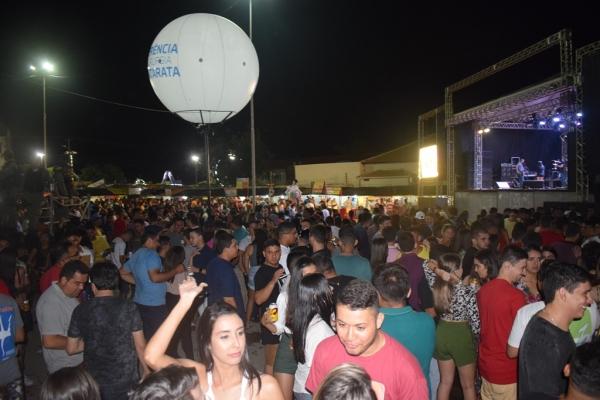 Lukketta e Tony Guerra animaram a sétima noite do Festejo de Santo Antônio