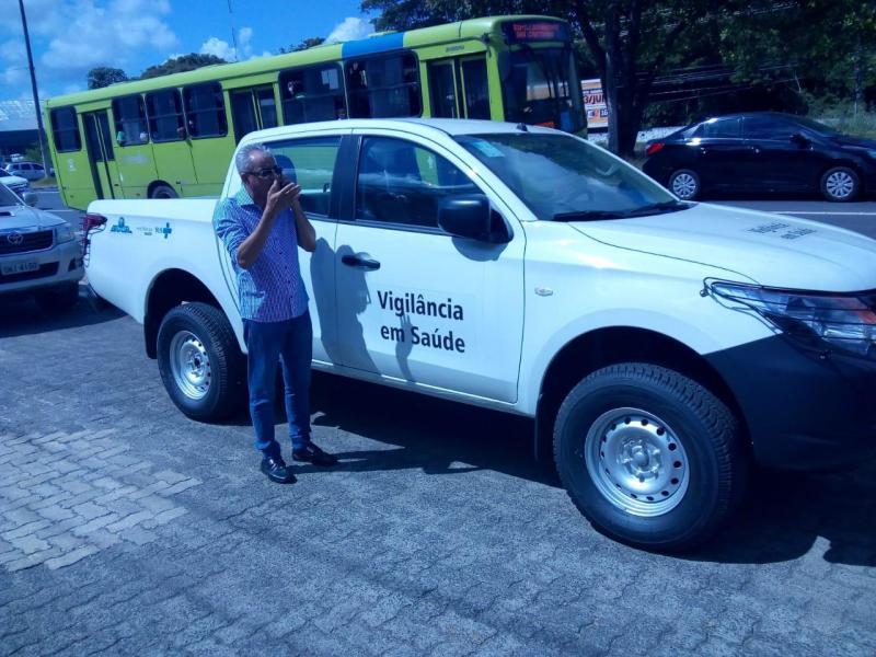São Gonçalo do Gurguéia recebe veículo destinado a vigilância em saúde