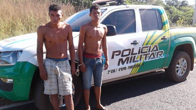 Irmãos são presos por estupro na cidade de Pimenteiras