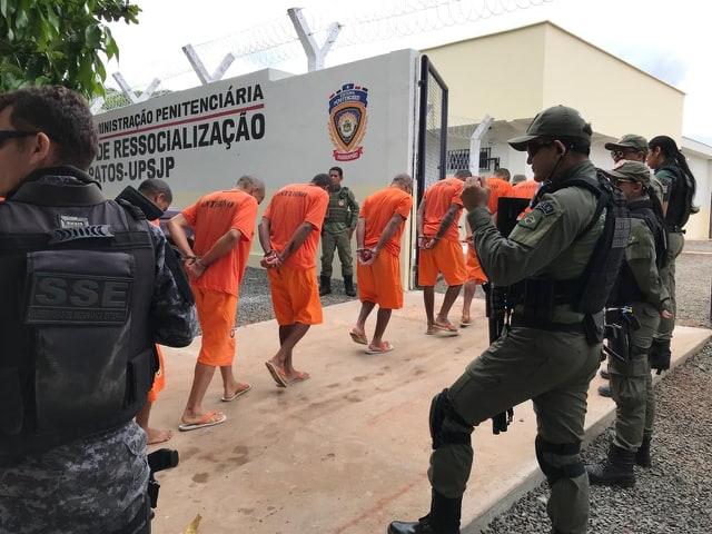 Transferidos presos para nova unidade prisional em São João dos Patos-Ma